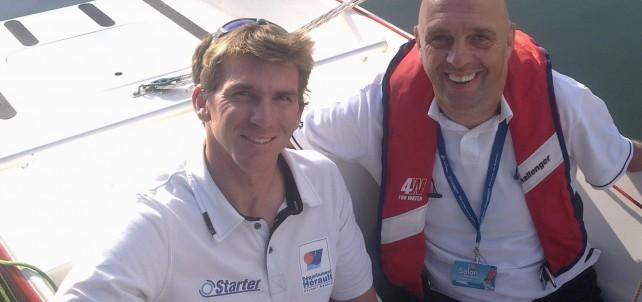 Philippe Croizon & Xavier Macaire